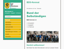 Tablet Preview of bds-kemnat.de